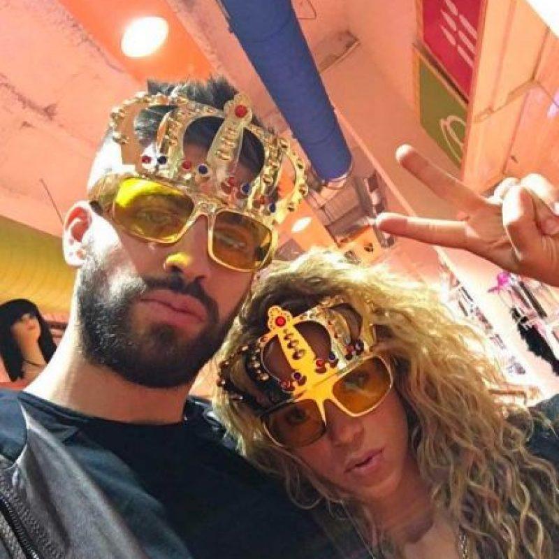 Y son pareja desde 2011. Foto:Vía instagram.com/Shakira. Imagen Por: