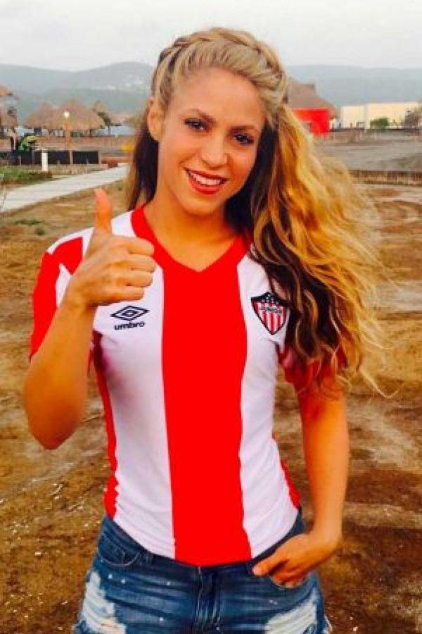 Y la colombiana siempre lo está apoyando desde las gradas, o desde las redes sociales. Foto:Vía instagram.com/Shakira. Imagen Por: