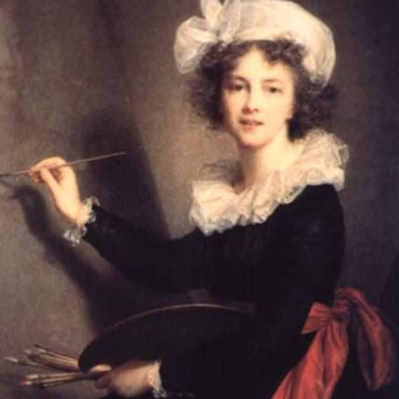 Vigeé Lebrun, pintora de la corte de María Antonieta. Foto:Wikipedia. Imagen Por: