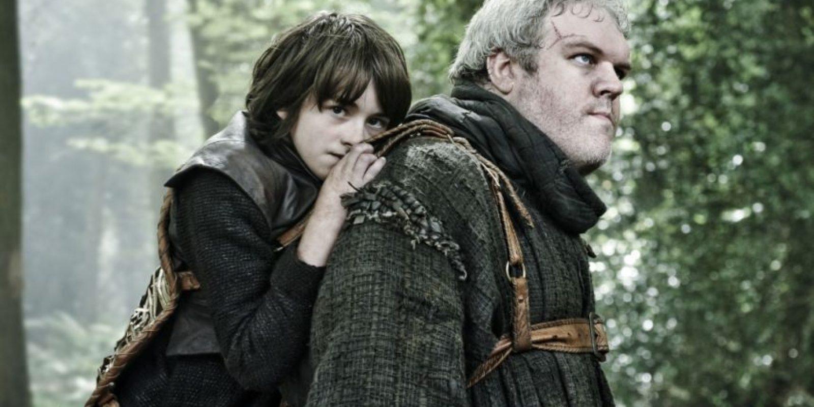 """Hodor solo decía """"Hodor"""" por """"Hold the Door"""". Foto:vía HBO. Imagen Por:"""