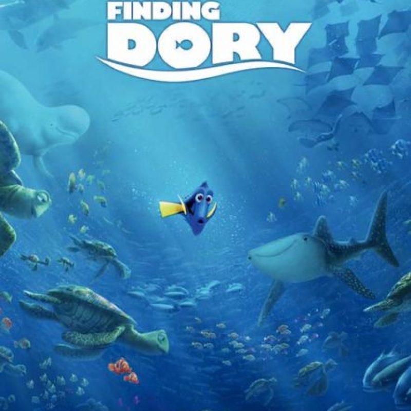 """""""Findig Dory"""" es una de las películas más esperadas de 2016. Foto:Disney Pixar. Imagen Por:"""