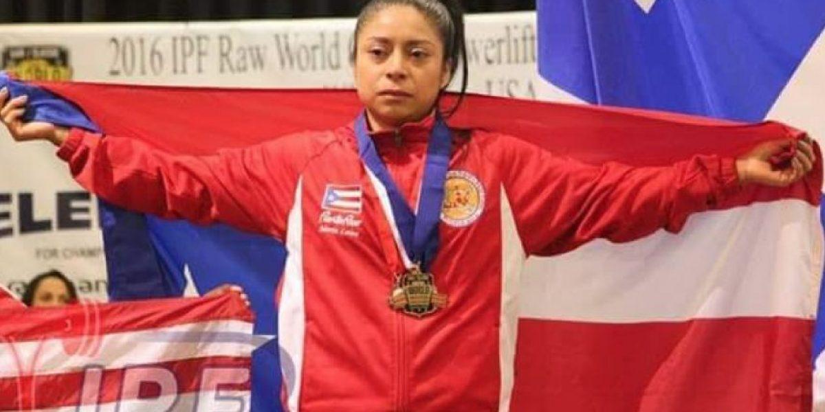 Oro para Puerto Rico en Powerlifting