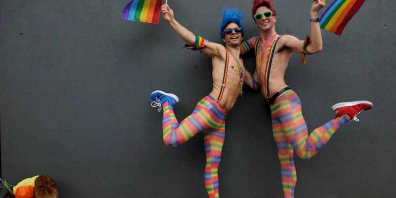 """En el """"día del Orgullo Gay"""" se realizan actos destinados a la tolerancia e igualdad de los derechos de la comunidad. Foto:Getty Images. Imagen Por:"""