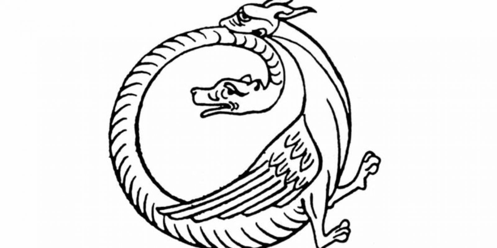 Esta figura simboliza el ciclo eterno de las cosas. Foto:Wikimedia. Imagen Por: