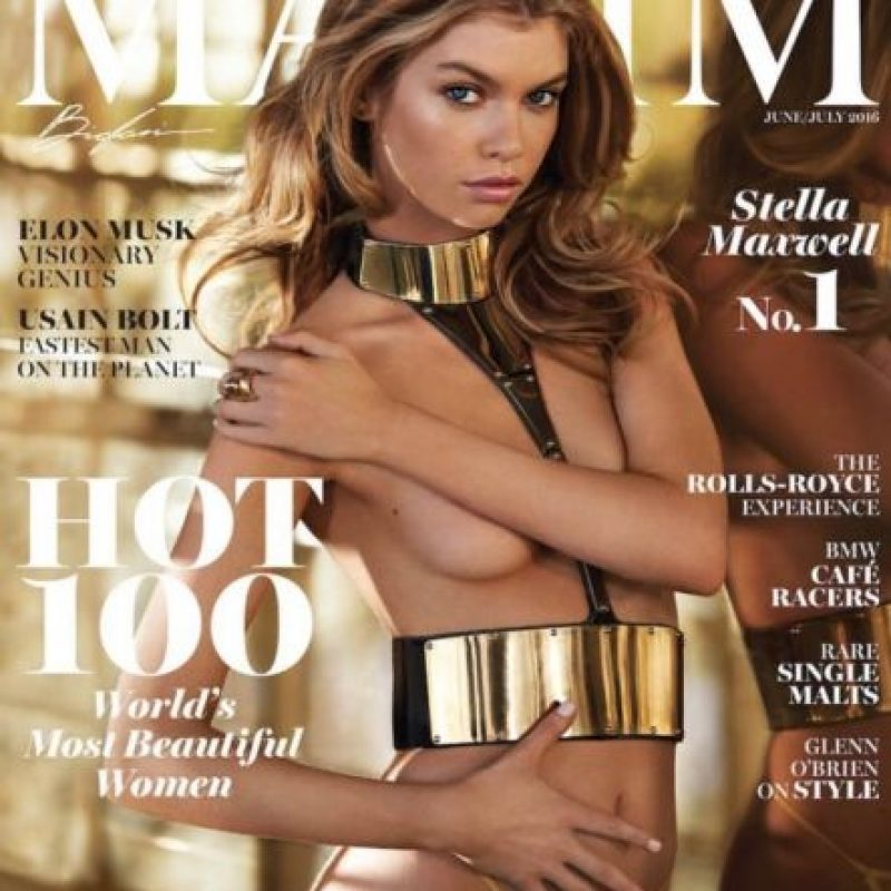 """En la revista """"Maxim"""" Foto:Vía Instagram/@Stellamaxwell. Imagen Por:"""