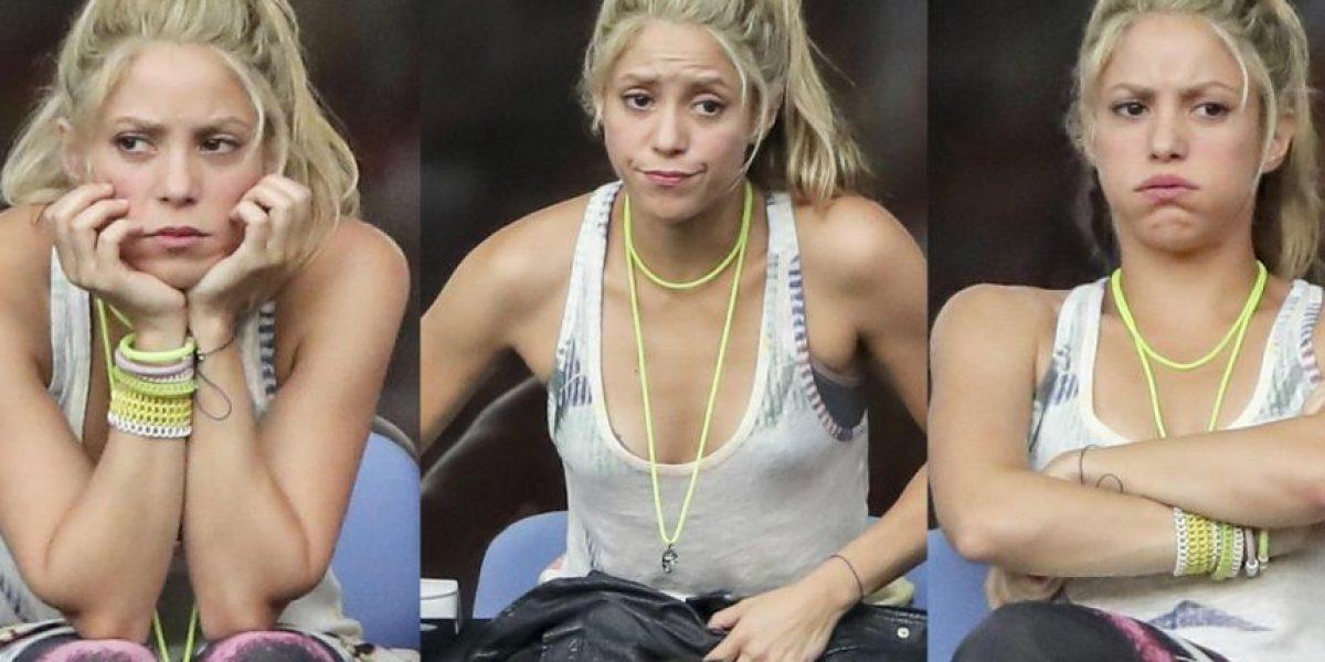 Así reaccionó Shakira ante derrota de España en Eurocopa
