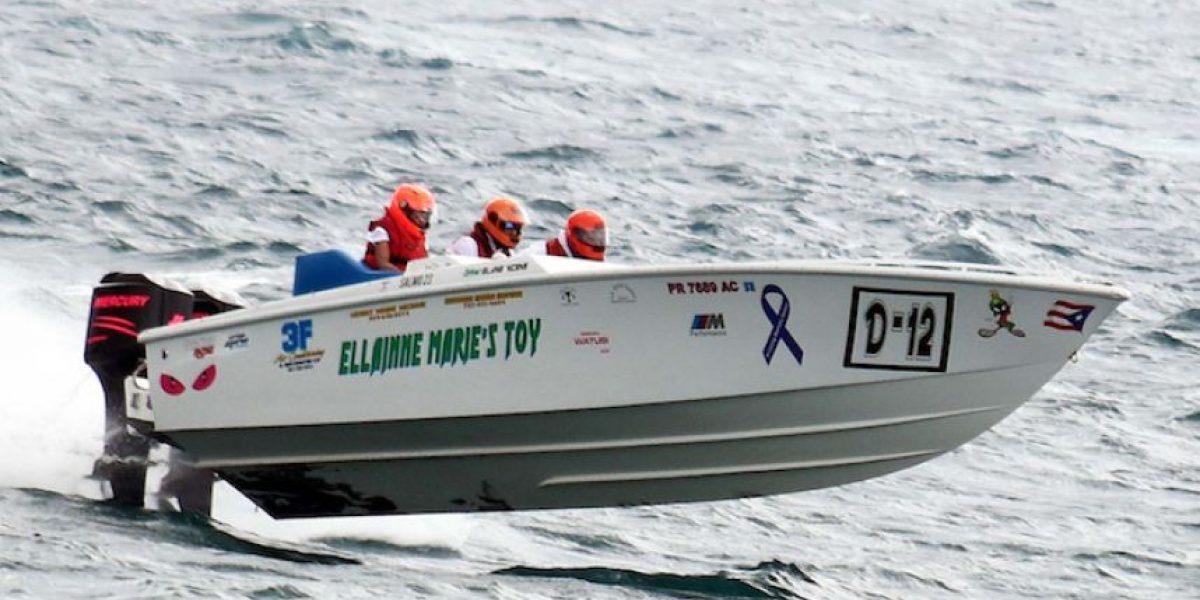 Celebran cuarta copa de competencias offshore de botes en Aguada