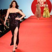 Christina Estrada, una de las top models de los años 90 Foto:Getty Images. Imagen Por: