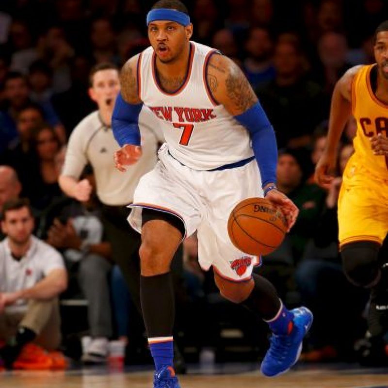 Carmelo Anthony Foto: Getty Images. Imagen Por: