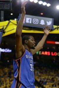 Aunque podría continuar en Oklahoma Thunder Foto:Getty Images. Imagen Por: