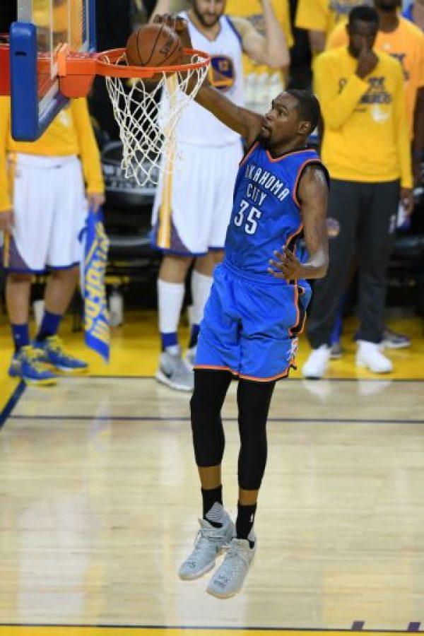 Kevin Durant es el agente libre mejor cotizado de la NBA Foto:Getty Images. Imagen Por: