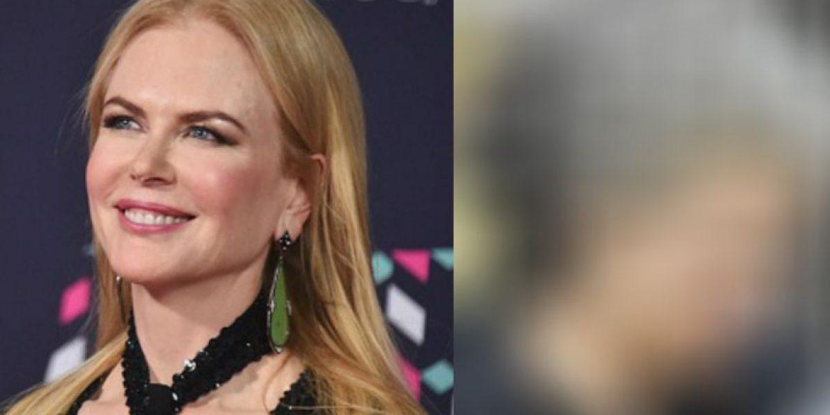 Nicole Kidman presume sus canas