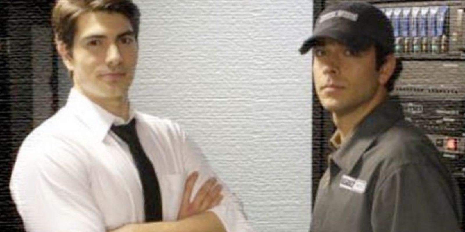 "Brandon Routh en ""Chuck"" Foto:NBC. Imagen Por:"