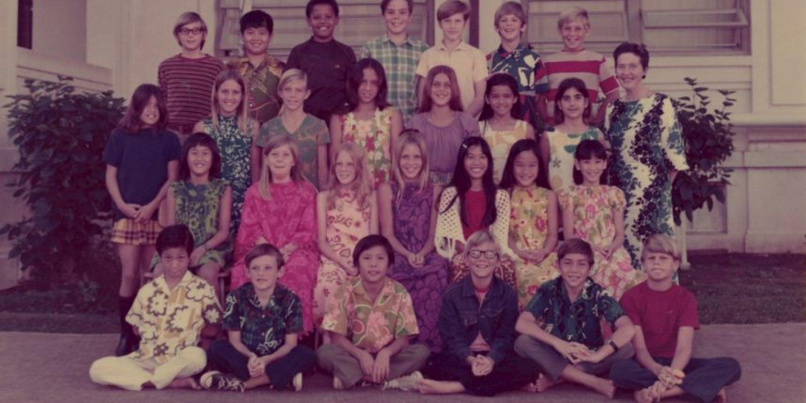 El tuit en recuerdo de su maestra Foto:Twitter.com/Potus. Imagen Por: