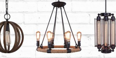 Screen Shot 2016-06-30 at 10.55.11 AMUp to 70% Off Rustic and Industrial Pendants Foto: Houzz. Imagen Por: