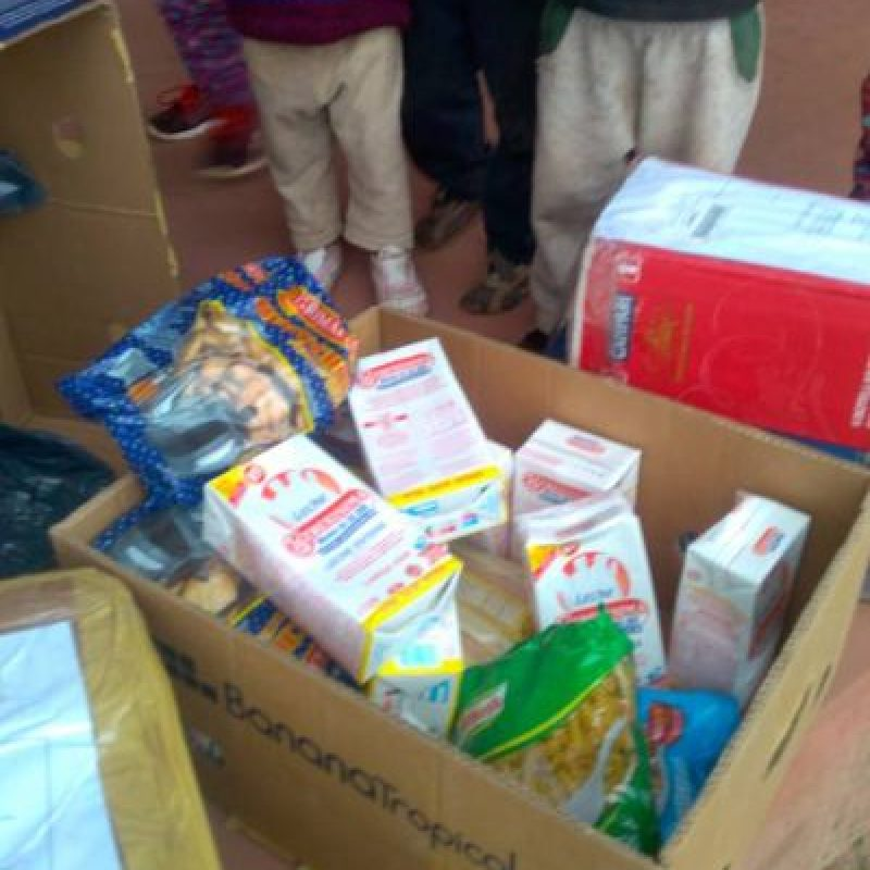 Los cuales servirán para la alimentación de los estudiantes Foto:Facebook.com/Escuela-N-948. Imagen Por: