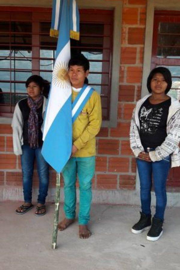 Esta es la foto que se hizo viral en redes sociales Foto:Facebook.com/Escuela-N-948. Imagen Por: