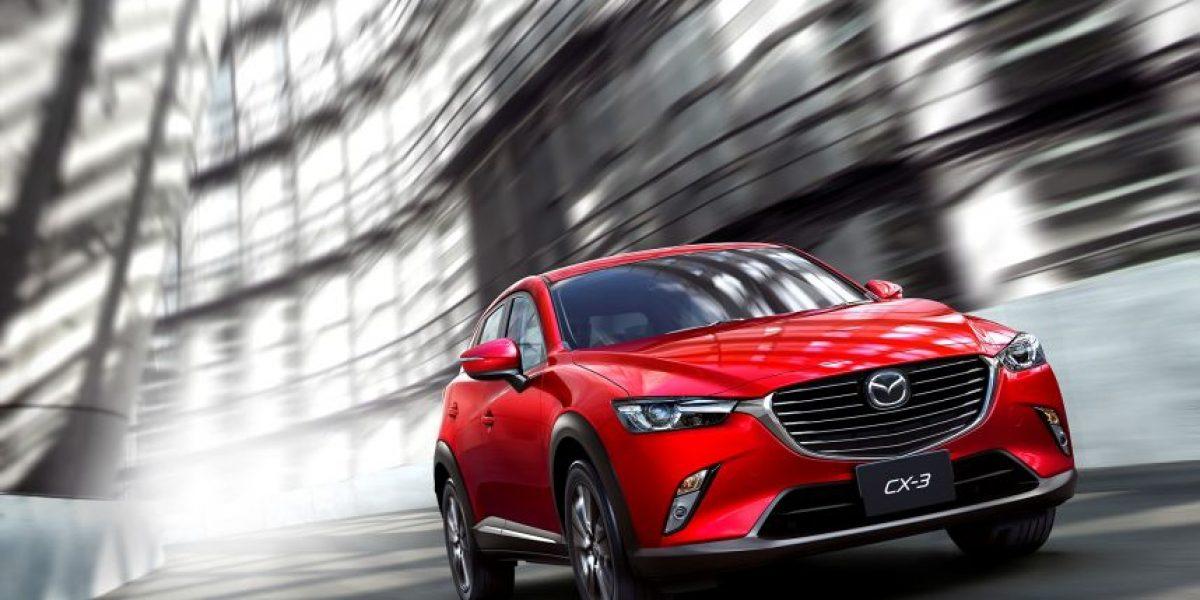 Mazda CX-3 reconocida Top Safety Pick+ por el Instituto de Seguridad en las Carreteras IIHS