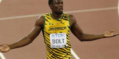 El hombre más rápido del planeta podría no asistir a la justa olímpica. Foto:AP. Imagen Por: