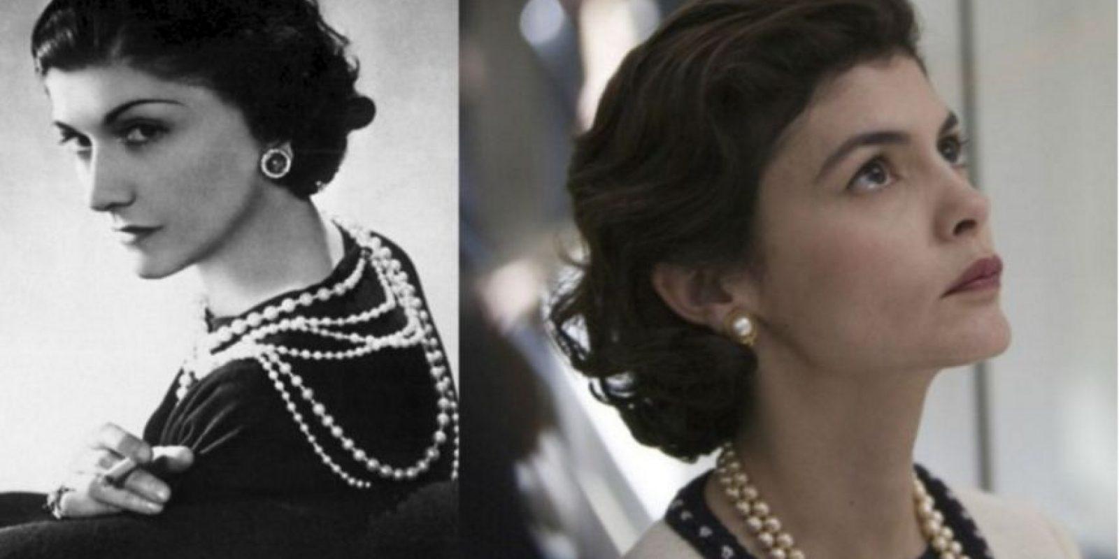 Coco Chanel – Audrey Tautou Foto:imgur.com. Imagen Por: