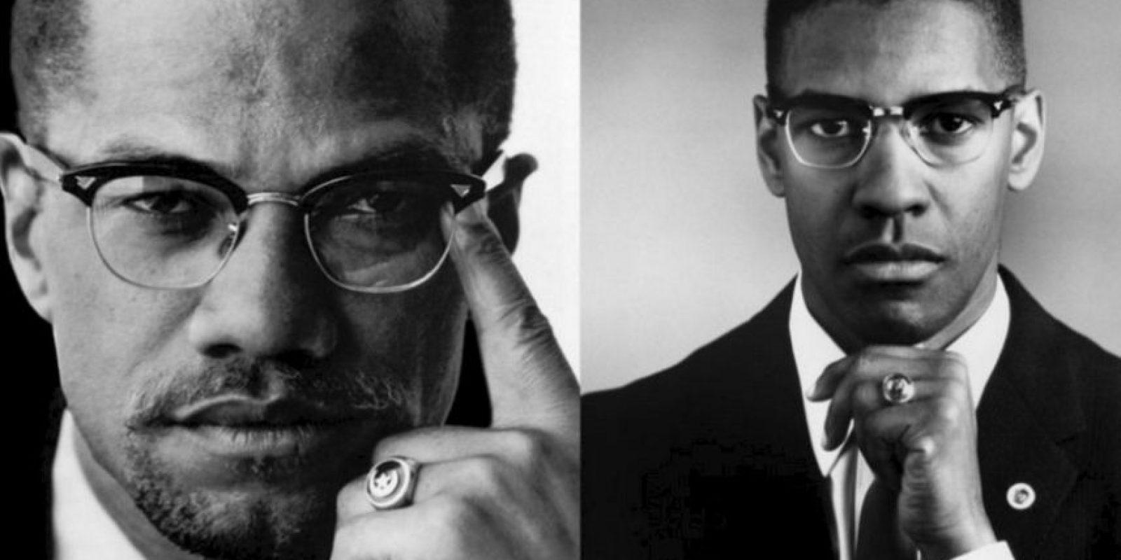Malcolm X – Denzel Washington Foto:imgur.com. Imagen Por: