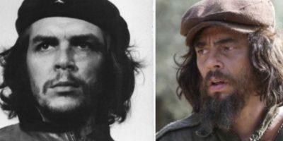 "Ernesto ""Che"" Guevara – Benicio del Toro Foto:imgur.com. Imagen Por:"