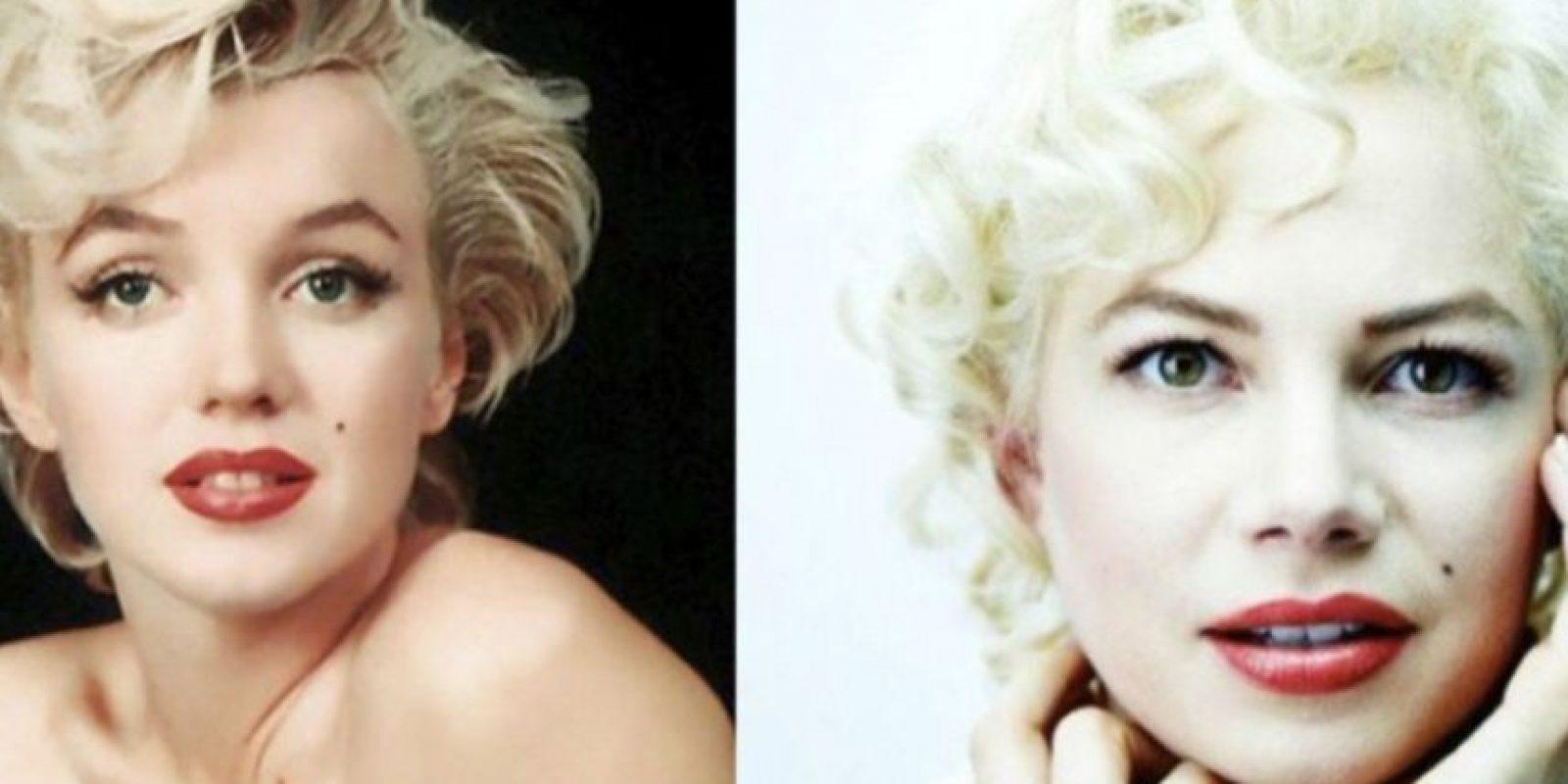 Marilyn Monroe – Michelle Williams Foto:imgur.com. Imagen Por: