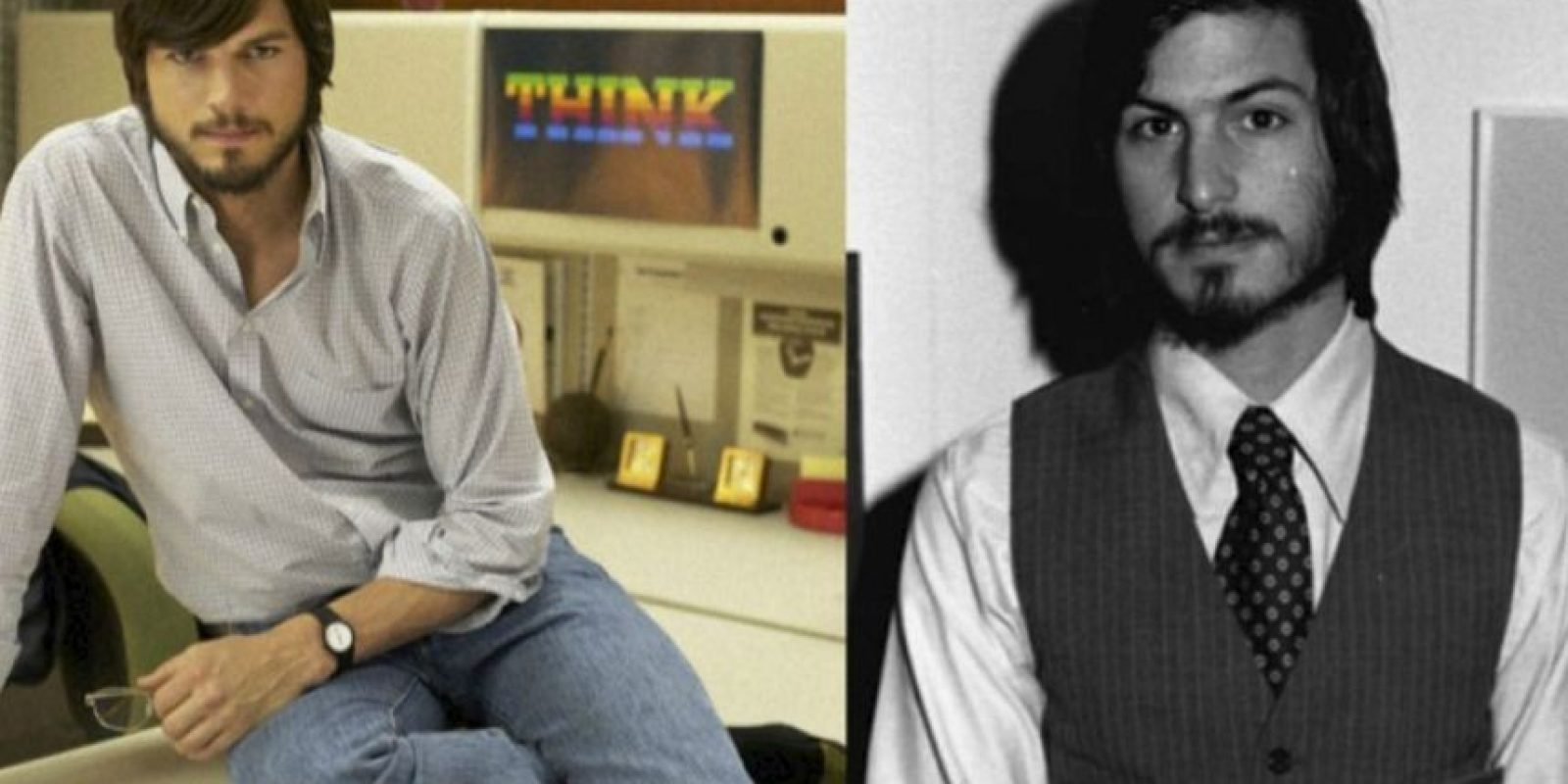 Ashton Kutcher-Steve Jobs Foto:imgur.com. Imagen Por: