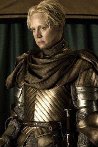 Brienne de Tarth en la temporada 6 Foto:Vía HBO. Imagen Por:
