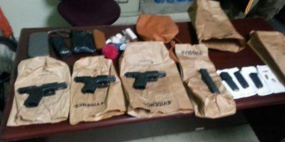 Arrestan dos mujeres y dos hombres y ocupan armas en Manatí