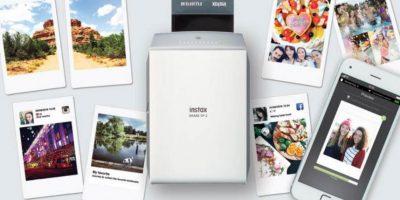 Y tiene batería recargable. Foto:Fujifilm. Imagen Por: