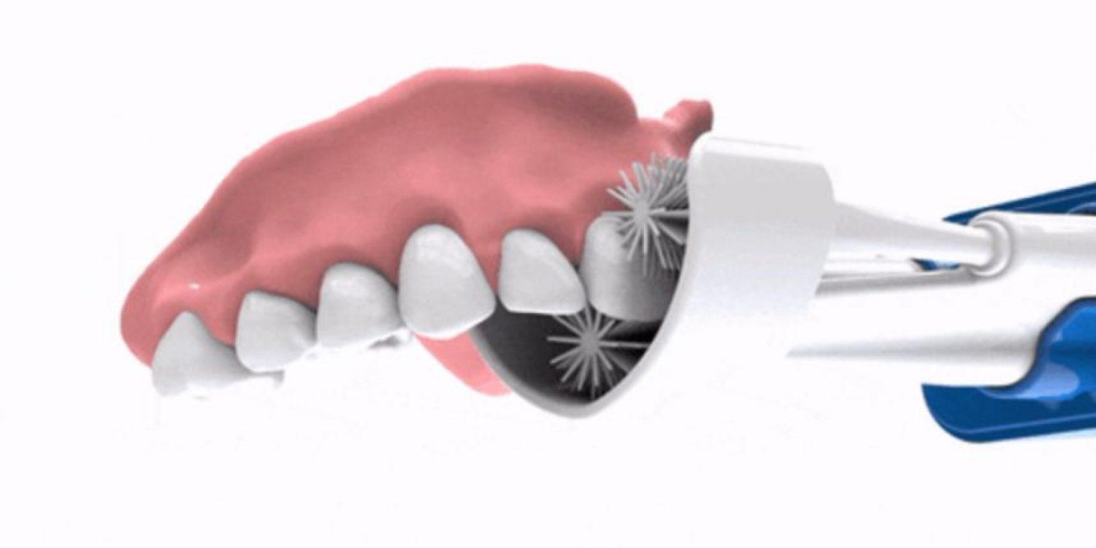 Así funciona el cepillo inteligente. Foto:GlareSmile. Imagen Por: