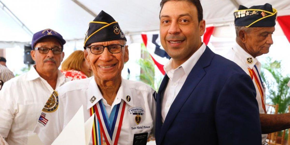 Dedican el 4 de julio a los veteranos puertorriqueños condecorados