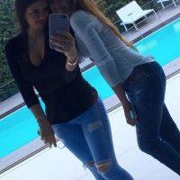 Las mejores imagénes de las redes sociales de Antonella y Daniella. Imagen Por: