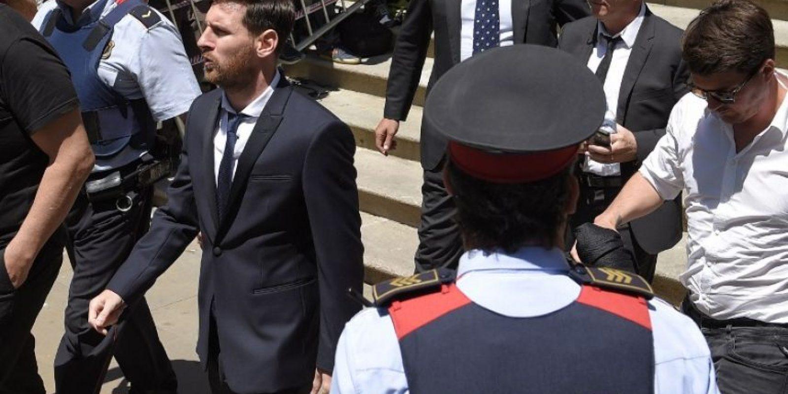 """""""La verdad es que, como explicó antes mi papá, confiaba en él y en los abogados"""", dijo Foto:AFP. Imagen Por:"""