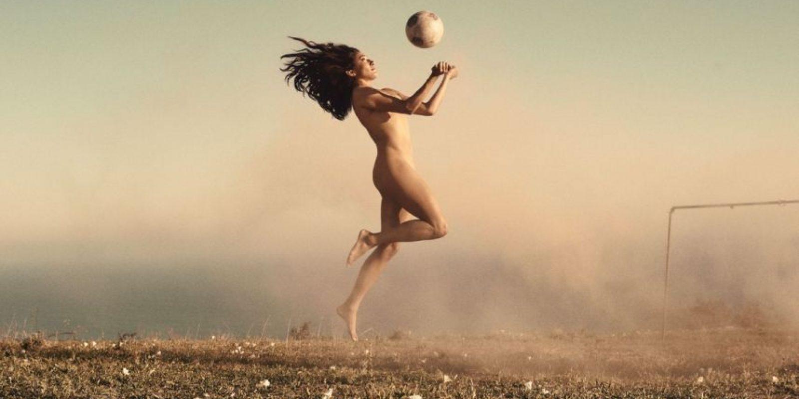 Christine Press, fútbol Foto:Carlos Serrao | ESPN. Imagen Por:
