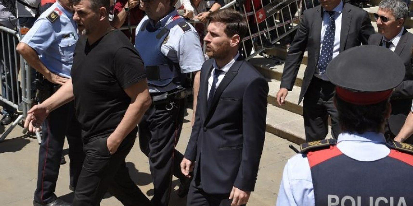 Lionel Messi fue condenado a 21 meses de cárcel por fraude fiscal Foto:AFP. Imagen Por:
