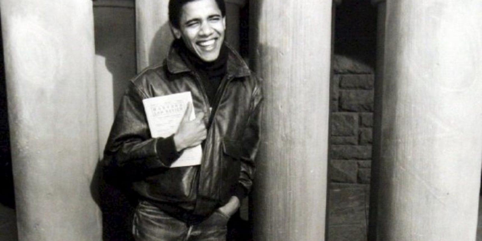 """En 1992 dirigió la organización sin ánimos de lucro """"Project Vote"""". Foto:Facebook: Barack Obama. Imagen Por:"""