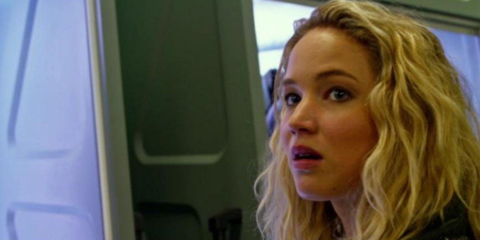 """Jennifer Lawrence es """"Mystique"""", que primero fue personificada por Rebeca Rojmin. Foto:vía Fox. Imagen Por:"""