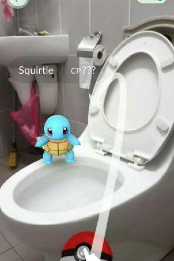 Vamo' al baño'. Foto:Twitter. Imagen Por: