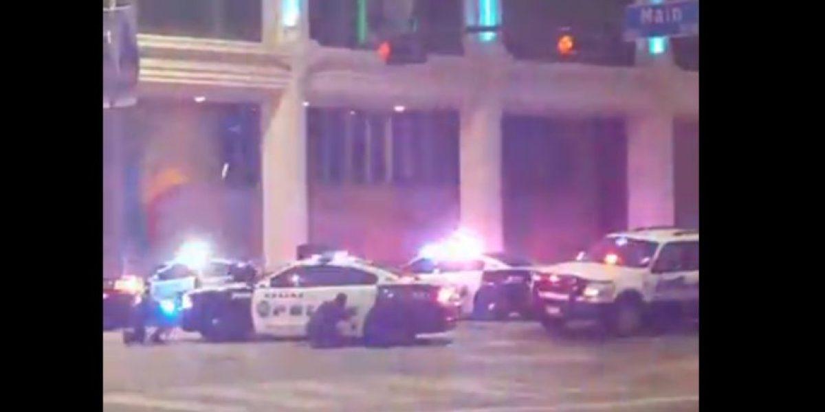 Escalofriante video de balacera contra policías en Dallas