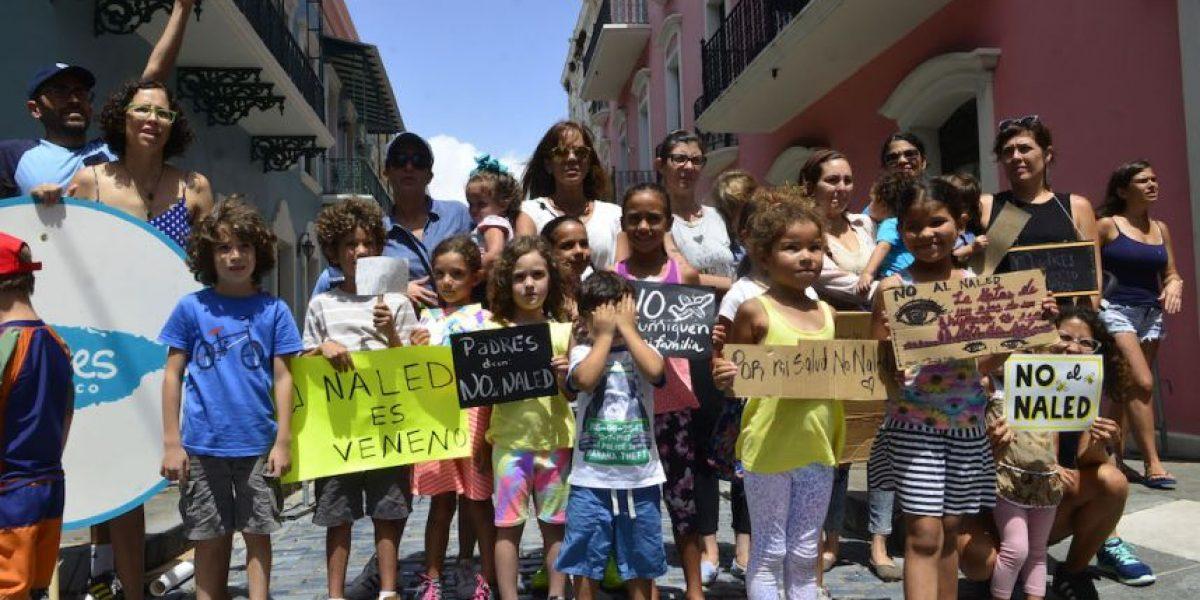FOTOS: Madres protestan contra el NALED