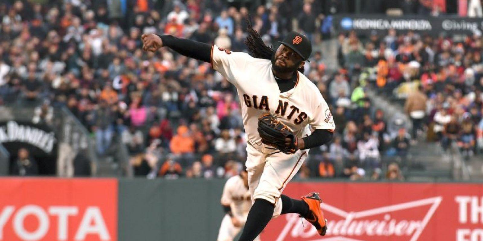 Johnny Cueto será el abridor en la Liga Nacional para el Juego de Estrellas de la MLB. Foto:Getty Images. Imagen Por: