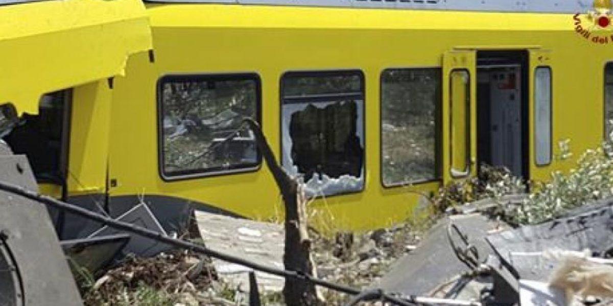 Aumentan víctimas tras choque de trenes en Italia