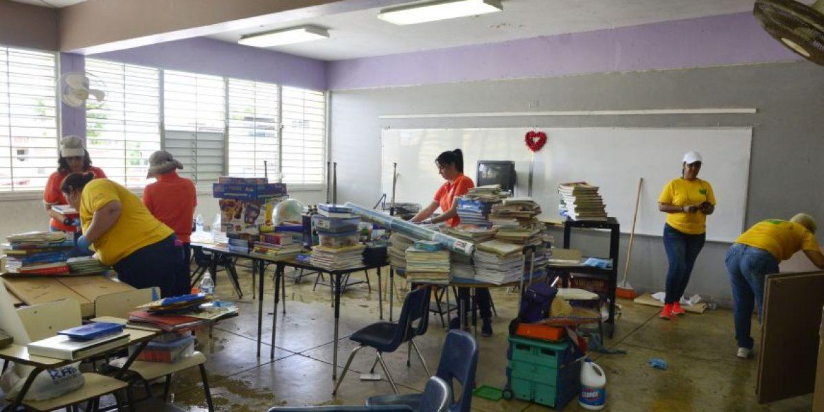 Se unen para remozar escuela en Vista Hermosa