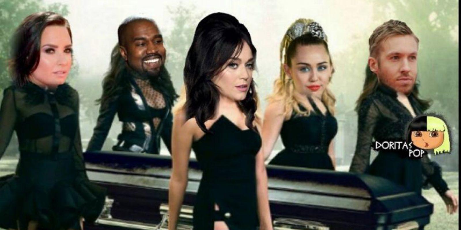 """Otros claramente ven cómo """"Taylor se Hunde"""" (ella gana más que Messi). Foto:Doritas Pop. Imagen Por:"""