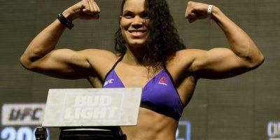 """Amanda Nunes venció a Miesha Tate en la función """"UFC 200"""" Foto:Getty Images. Imagen Por:"""