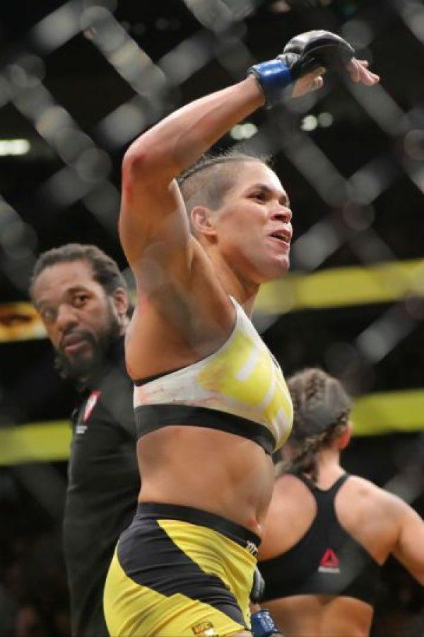 Se convirtió en Campeona Peso Gallo de la empresa Foto:Getty Images. Imagen Por: