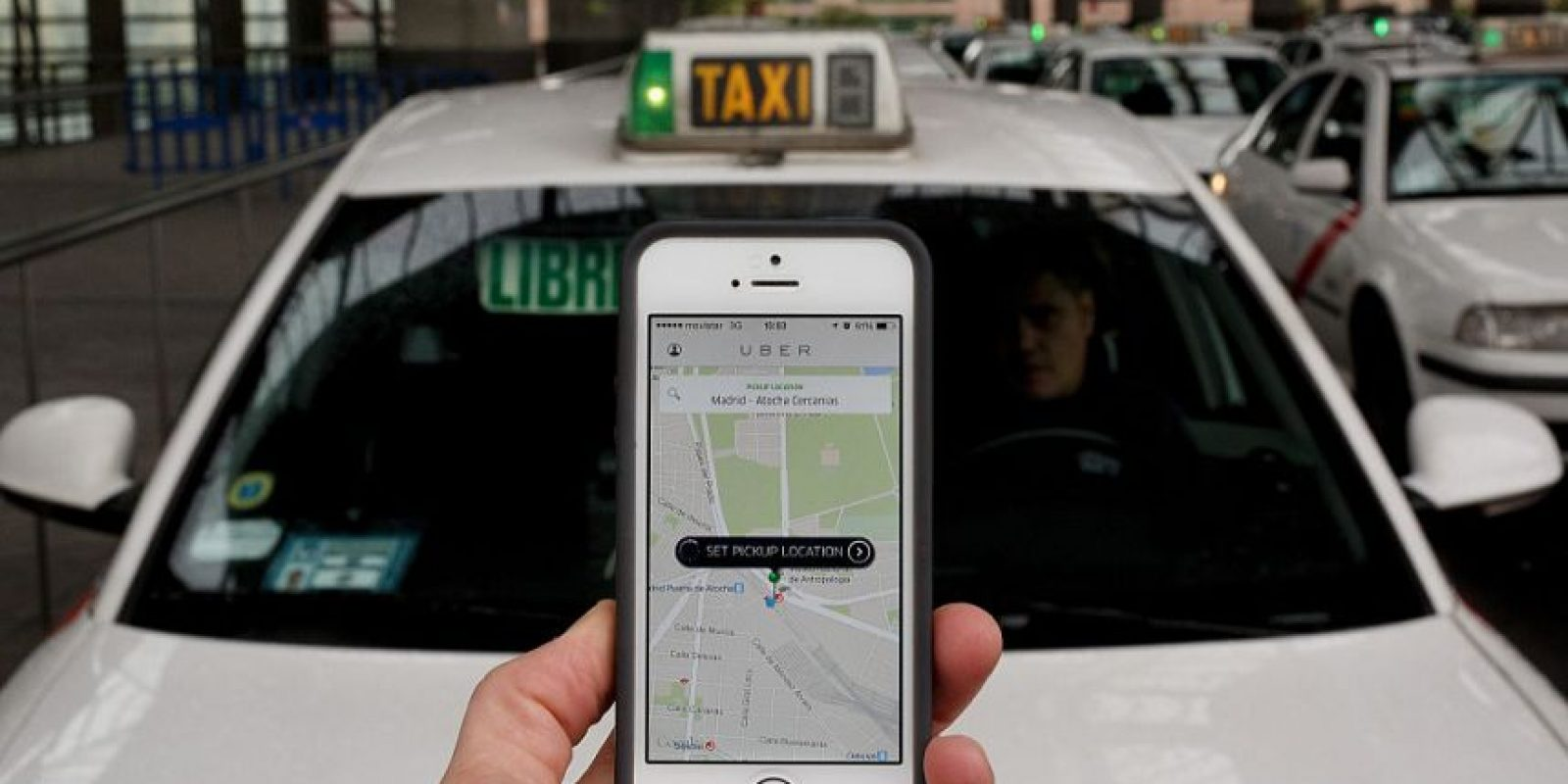 En la India un conductor de esta app fue acusado de violar a una pasajera. Foto:Getty Images. Imagen Por:
