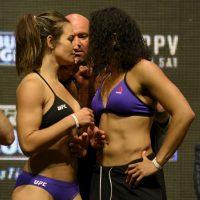 Tate también cedió el campeonato en su primera pelea ante Amanda Nunes Foto:Getty Images. Imagen Por: